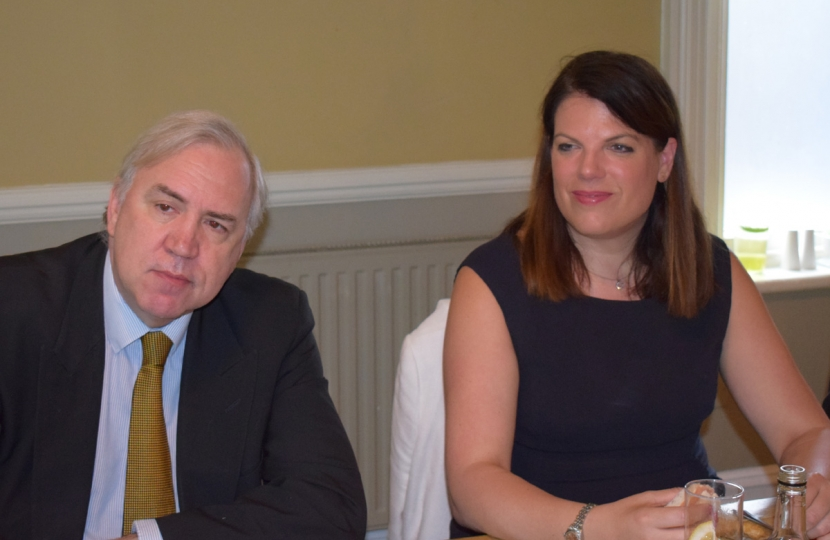 Sir Robert Syms MP, Rt Hon Caroline Nokes MP